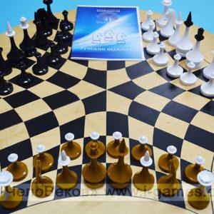 Русские шахматы (деревянная доска)