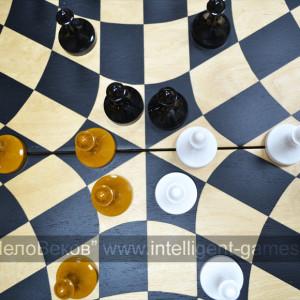 """""""Русские шахматы"""" - шахматы на троих"""