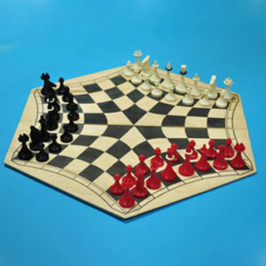 Русские шахматы - шахматы на троих